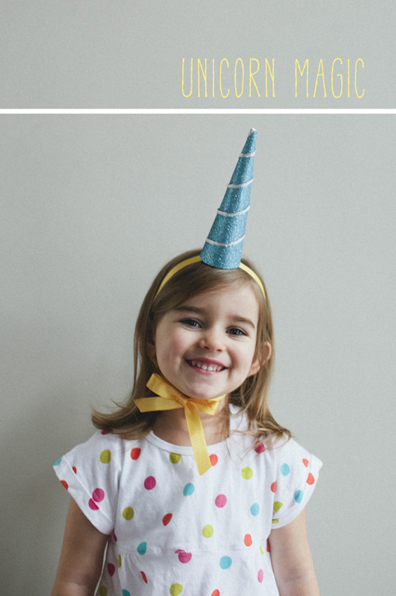 how to make a unicorn horn