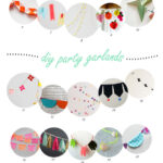 25 party garlands