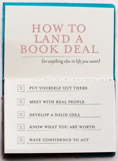 how-to-land-a-book-deal