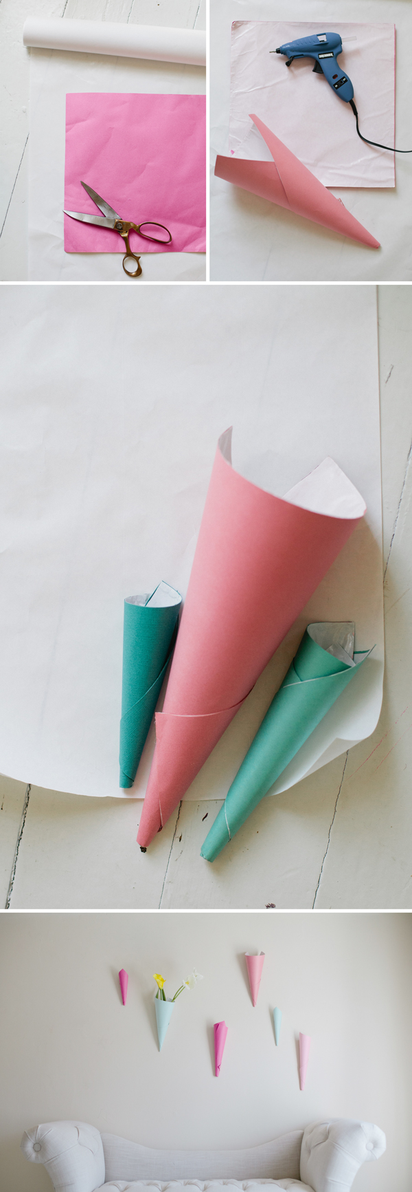 Paper floral wall cones a subtle revelry paper floral wall cones paper floral wall cones a subtle revelry mightylinksfo