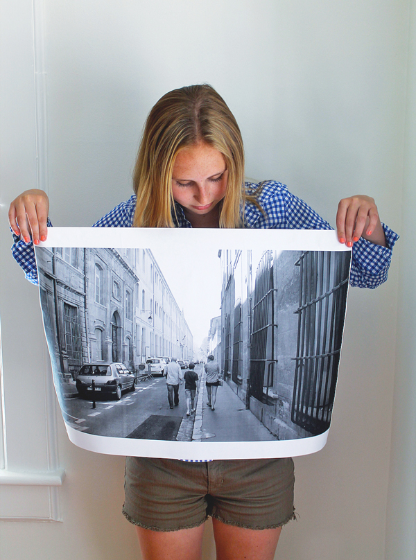 large print copy photo wrapping paper