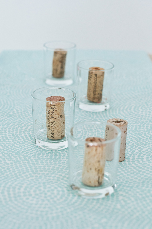 how to turn your corks into candles • A Subtle Revelry
