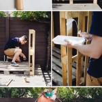 simple wooden – three pallet play house