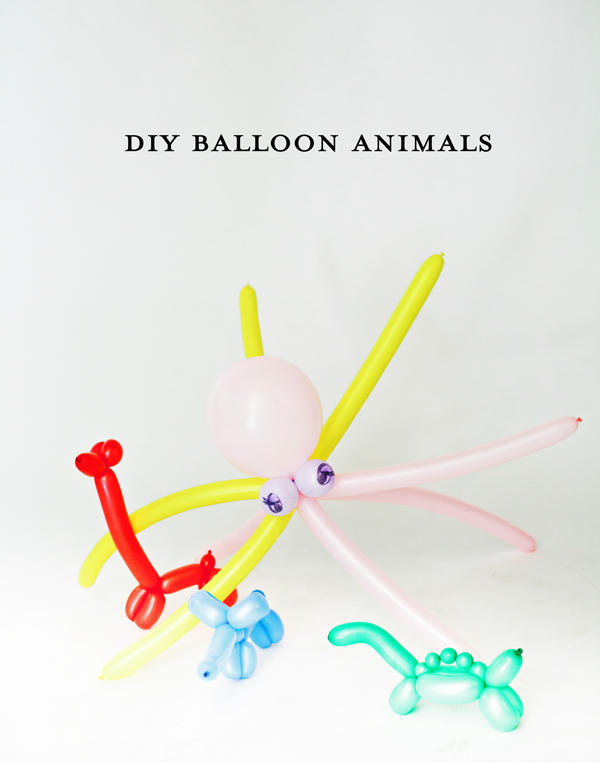 Balloon Animals Drawings How to Make Balloon Animals