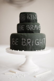 chalkboard birthday cake & candy chalk