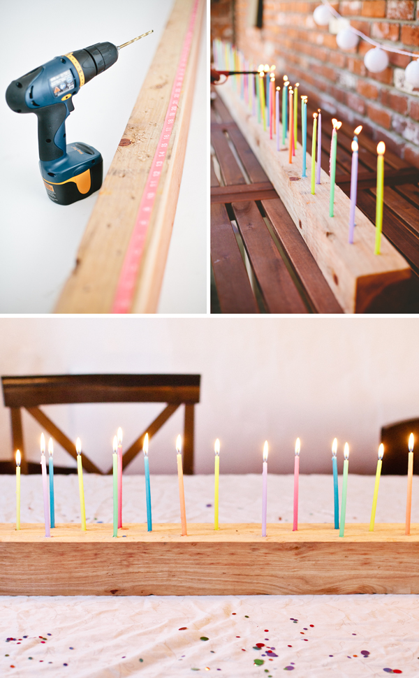 how to make a diy candelabra