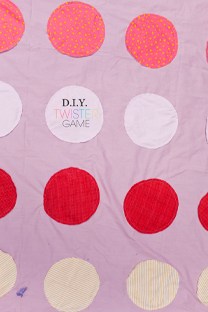 diy fabric twister game