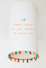 10 simple ways to use tassels in your life