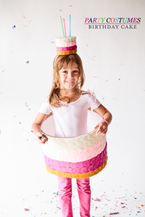 birthday cake halloween costume