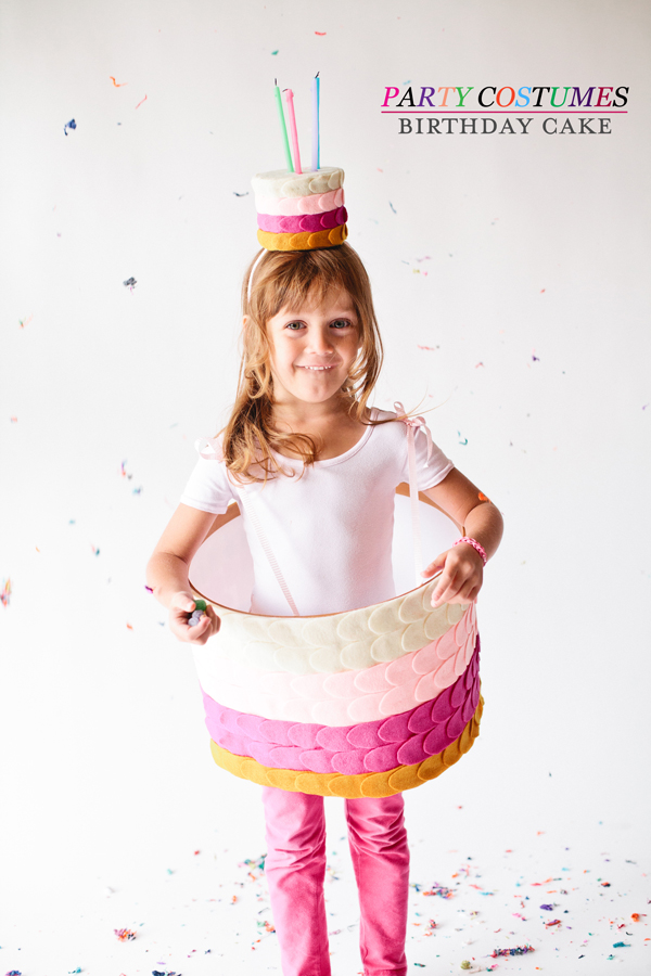 birthday cake halloween costume • A Subtle Revelry