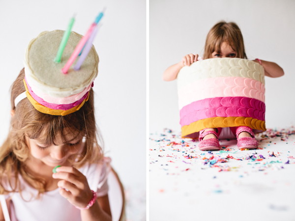 DIY Birthday Cake Costume