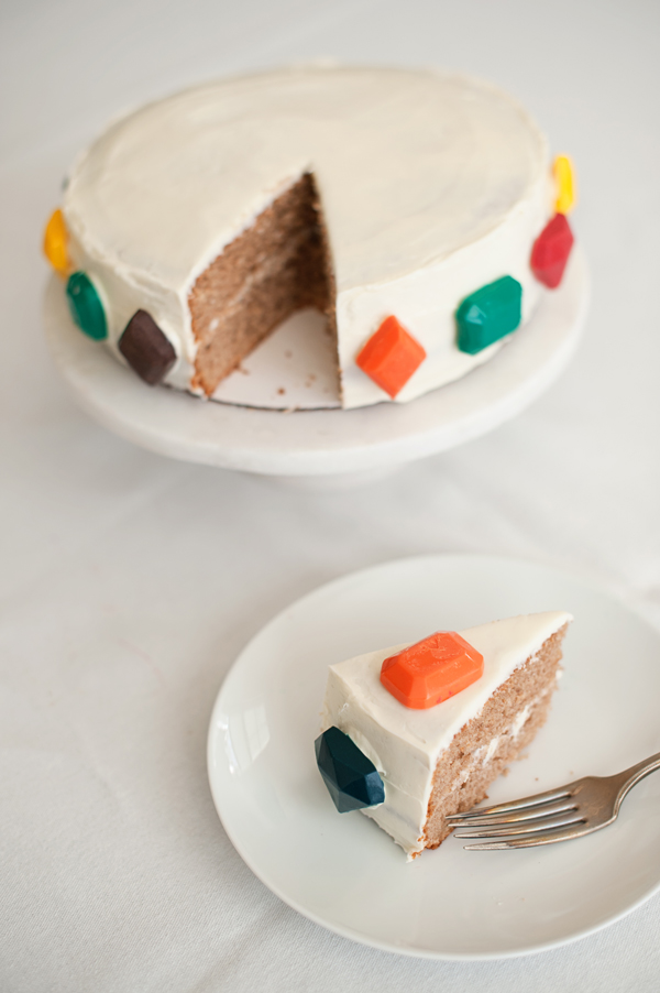 How To Decorate Cake At Home With Gems : candied jewel cake   A Subtle Revelry