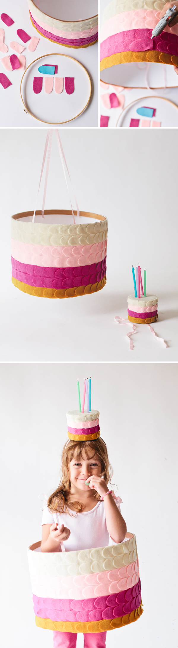 How to make a birthday cake costume
