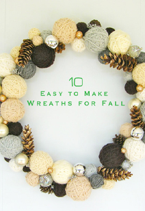 10 wreaths for fall