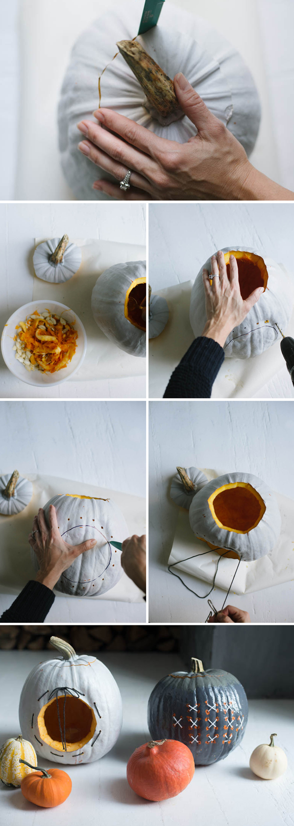 Embroidered Pumpkins