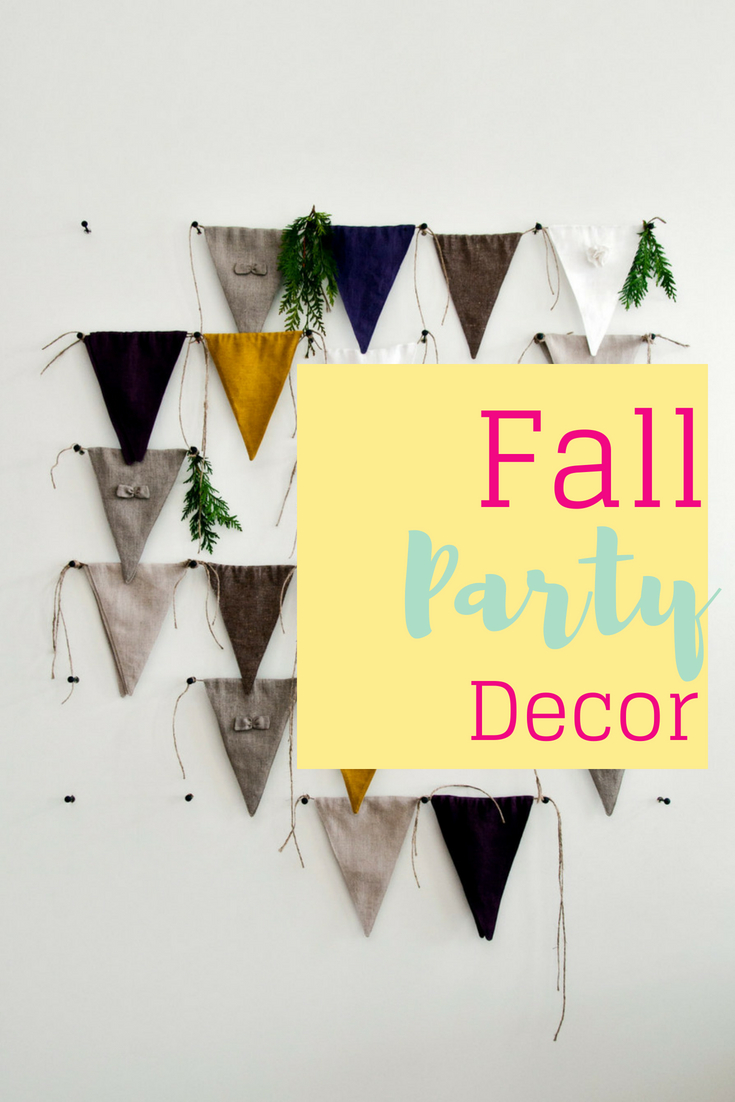 Our favorite fall party decorations
