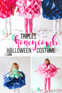 Triplet honeycomb halloween costume