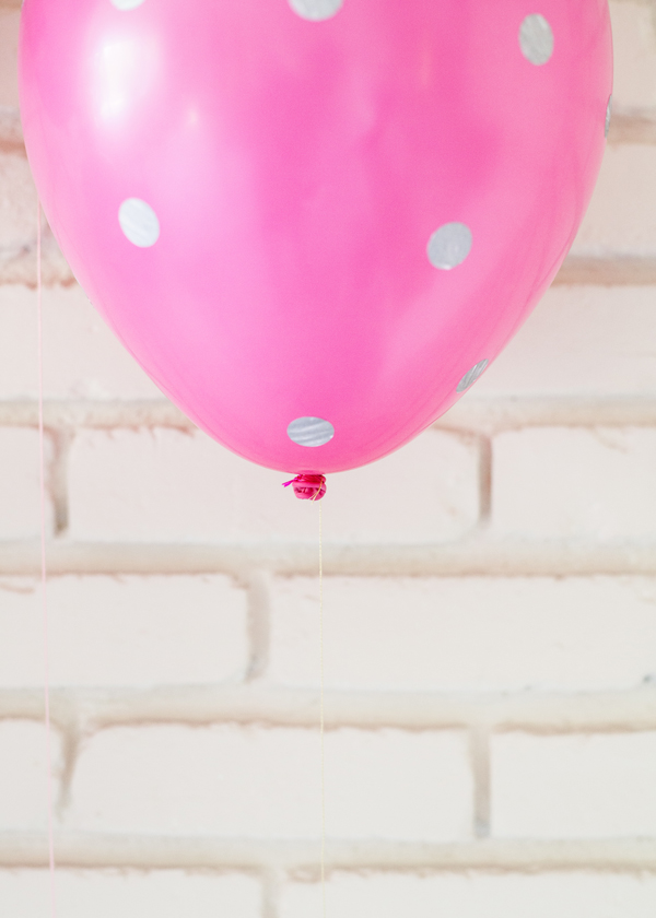 Polka dot Balloons | A Subtle Reverly