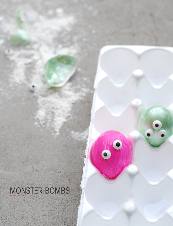 Monster Sidewalk Bomb Game