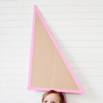oversized cardboard party hats