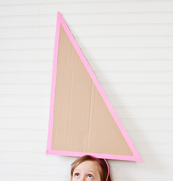 Oversized Cardboard Party Hats at A Subtle Revelry