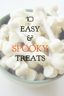 10 easy and spooky treats
