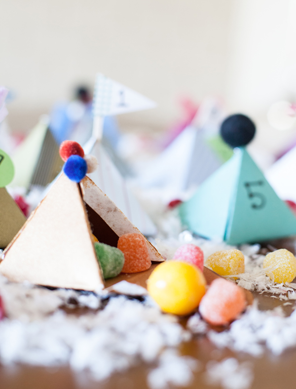 printable pyramid box advent calendar | A Subtle Revelry