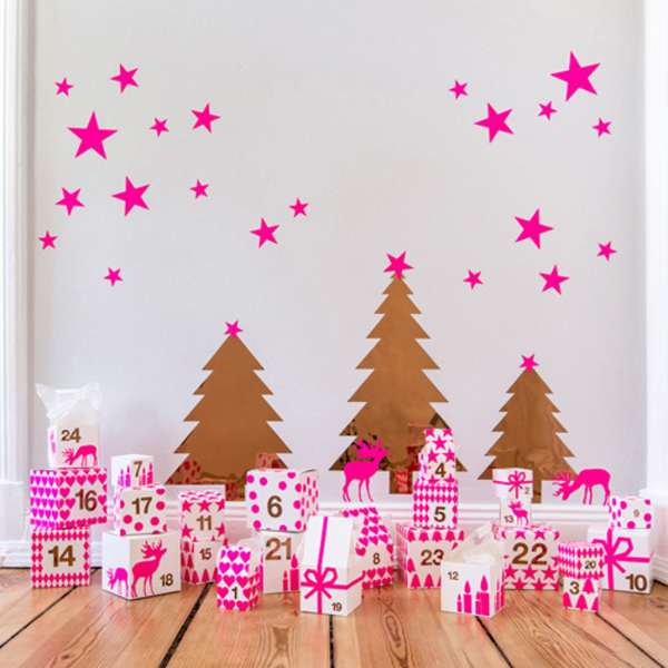 25 Creative Advent Calendars | Bright pink inspiration by DaWanda