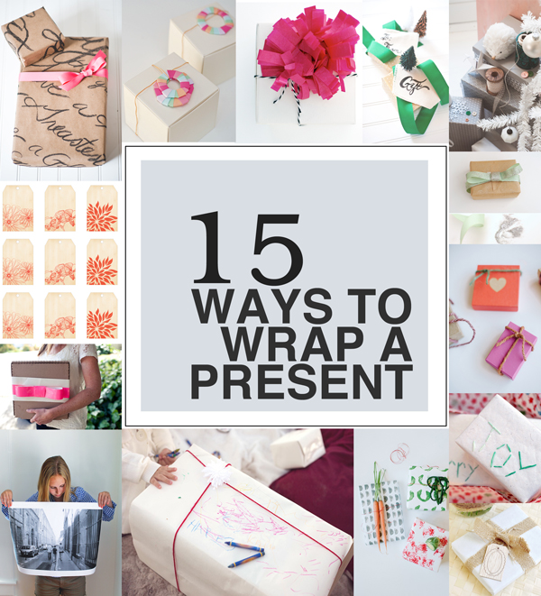 15 Ways To Wrap A Present >> A Subtle Revelry