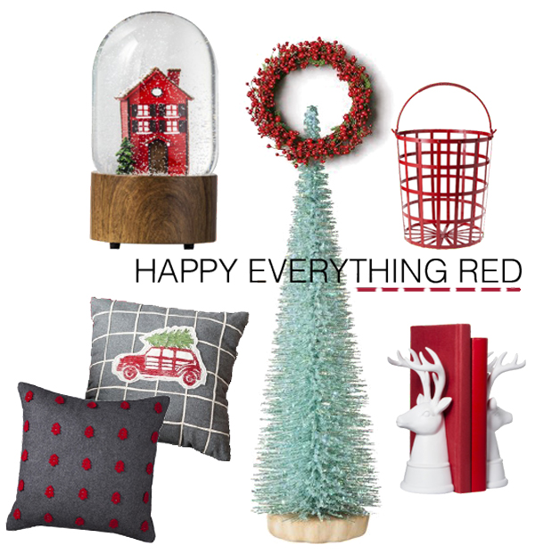 happy everything red
