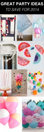 great party ideas to save for 2014