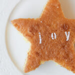 mini monogramed star cakes + the best baking tip