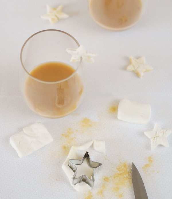 New Years Eve Party Hacks - Marshmallow Stars