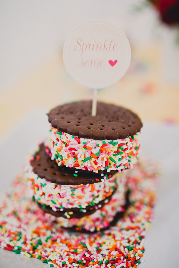 best baking recipes (click through for all the picks) - sprinkled ice cream sandwiches