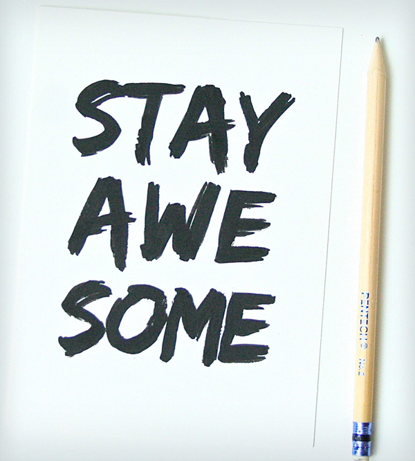stay-awesome