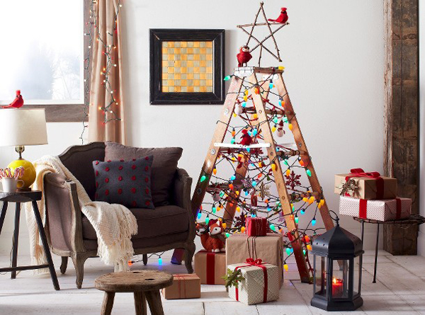 decorate a house in red
