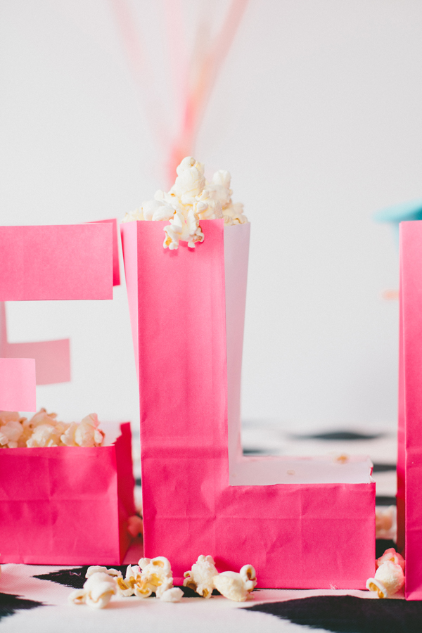 typography paper bags >> asubtlerevelry.com