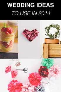 favorite wedding ideas for 2014