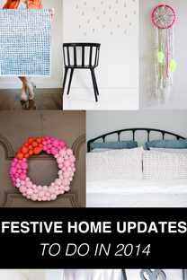 festive home updates to do this year