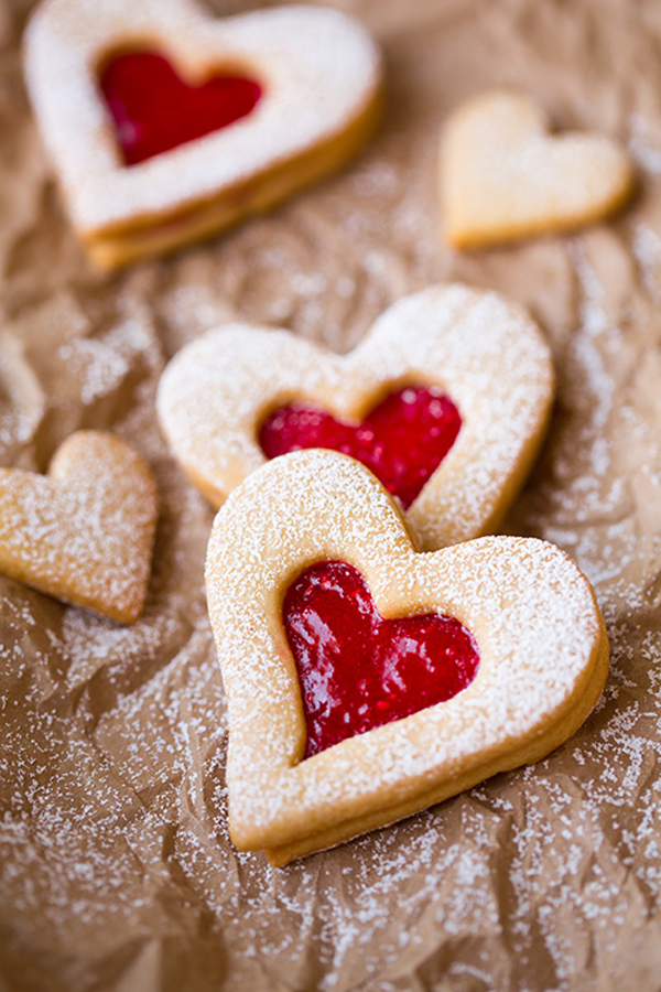 jelly heart cookies