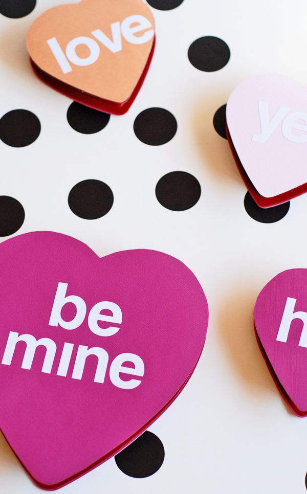 Conversation Heart Candy Boxes
