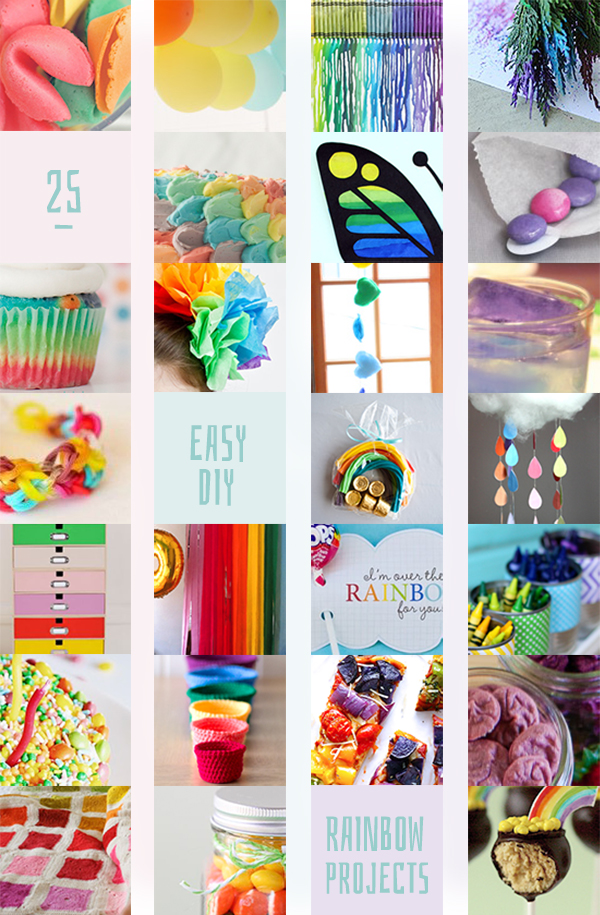 25 Easy Rainbow Crafts