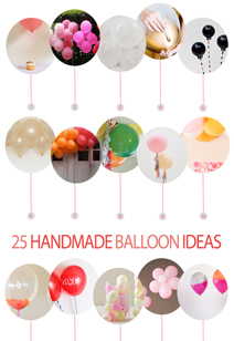 25 handmade balloon ideas