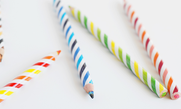Colored Pencil Candles!