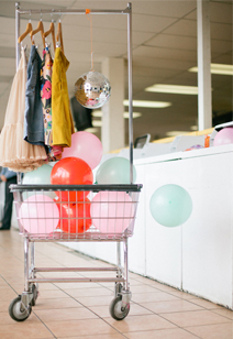 disco balloon laundry