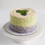 sugar glitter layer cake