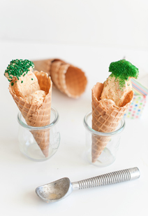 shredded carrot ice cream