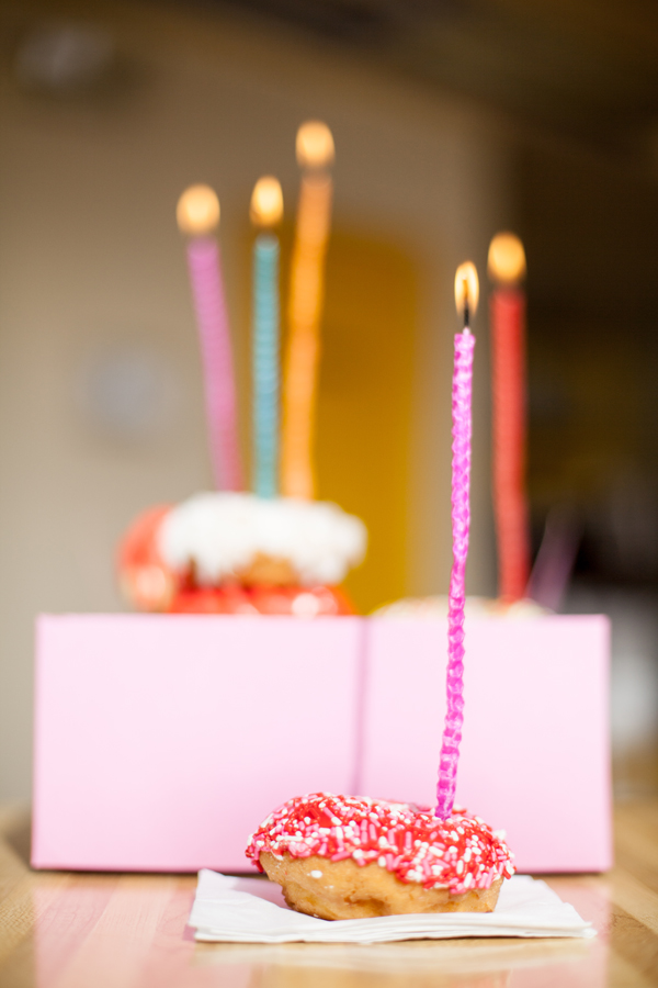 birthday beeswax candles