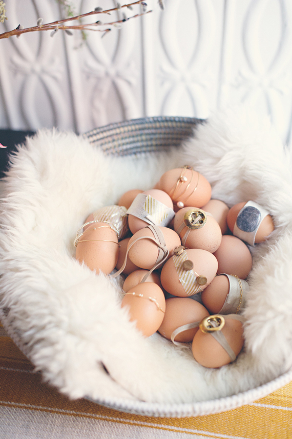 Jeweled Boho Easter Eggs