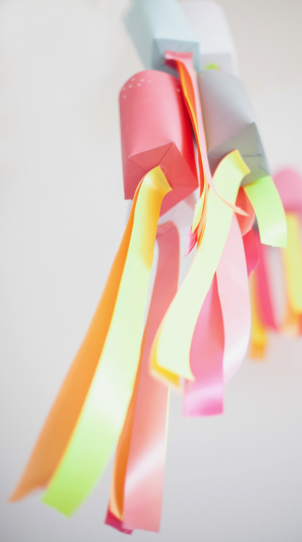 Paper party lanterns project